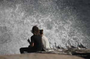 Il mare, impetuoso