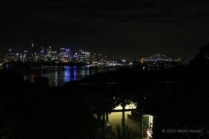Panorama di Sydney dal Taronga Zoo