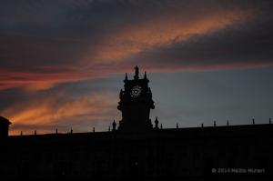 Hotel parador leon tramonto sunset