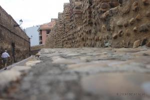 Mura antiche di Leon, scorcio