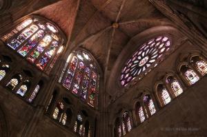 cattedrale leon vetrare