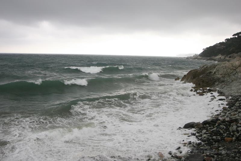 Mare impetuoso, Varazze Cogoleto 2014 mareggiata