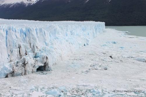 La voce del Perito Moreno