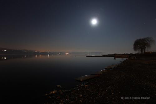 Luna piena e Giove
