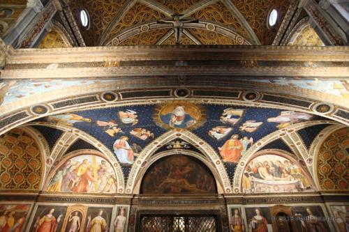 San Maurizio - retro dell'altare