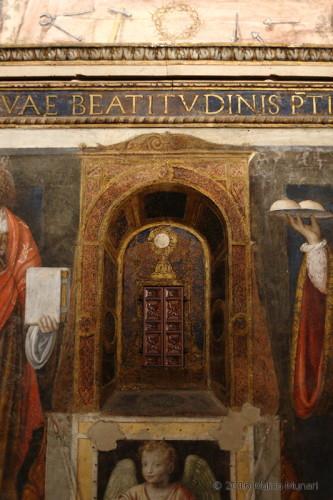 San Maurizio - apertura per la comunione