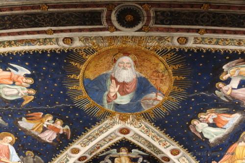 San Maurizio - dettaglio della volta dietro all'altare