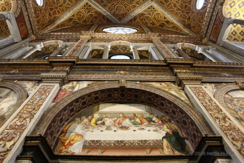 San Maurizio - ingresso al refettorio