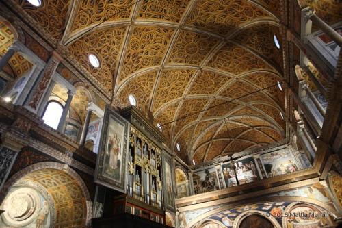 San Maurizio - vista generale della parte monastica