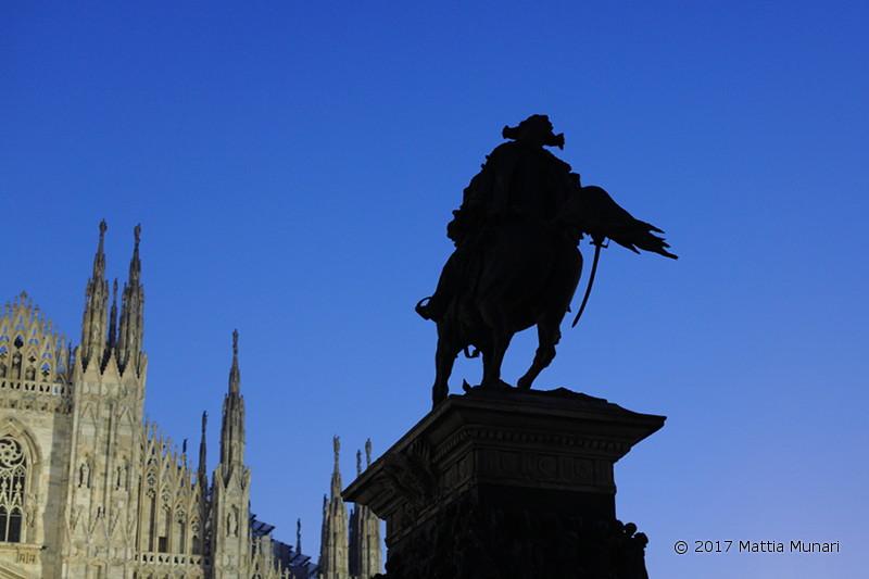 Capodanno - Vittorio Emanuele a cavallo