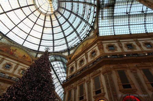L'albero di Natale in galleria